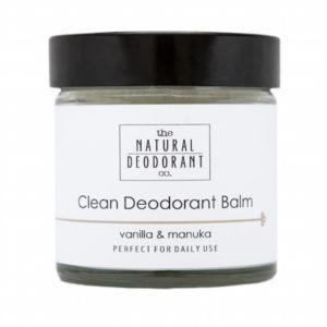 Clean-Deodorant-Balm-with-Vanilla-Manuka-60ml-The-Natural-Deodorant-Co-300x300